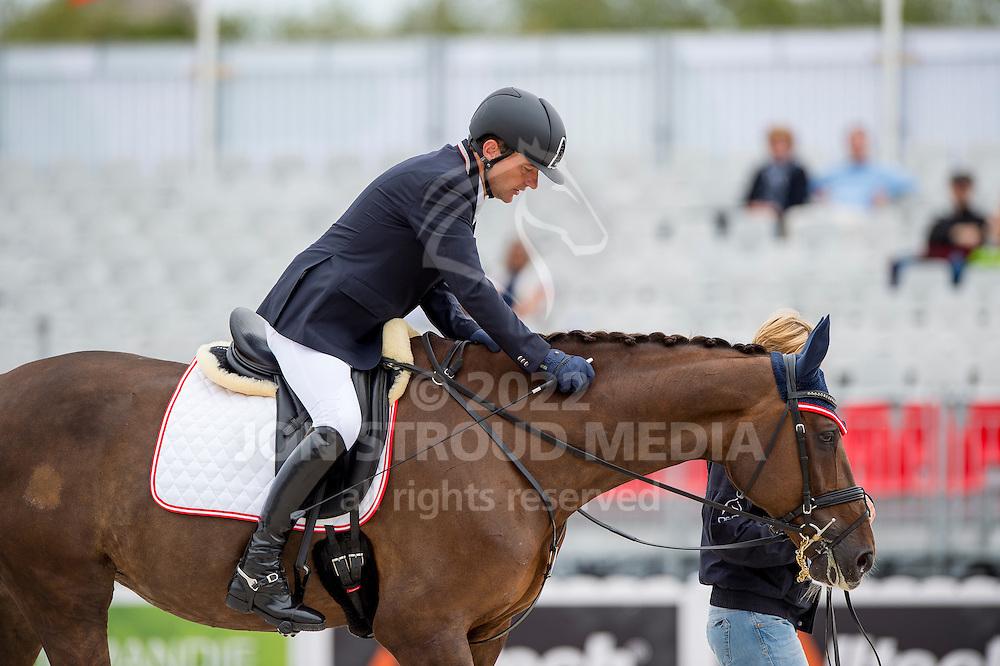 Pepo Puch, (AUT), Fine Feeling S - Individual Test Grade 1b Para Dressage - Alltech FEI World Equestrian Games&trade; 2014 - Normandy, France.<br /> &copy; Hippo Foto Team - Jon Stroud <br /> 25/06/14