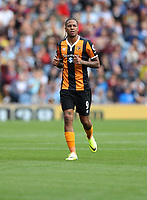 Football - 2016 / 2017 Premier League - Burnley vs. Hull City<br /> <br /> Abel Hernandez of Hull City during the Premier League match between Burnley and Hull City at Turf Moor. <br /> <br /> COLORSPORT/LYNNE CAMERON