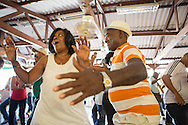 Sunday afternoon's are full of live music and dancefloor action at Casa Balear. <br /> Havana, Cuba, 2015