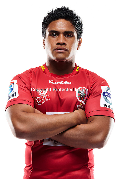 Ben Tapuai - Headshots 2012 St.George Queensland Reds FxPro Super Rugby season
