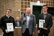Tømrerne Michael W. Kristensen og Sebastian Nielsen. Foto: © Michael Bo Rasmussen / Baghuset. Dato: 07.05.19
