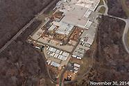 Frito Lay Plant Construction Aerial Photography November 2014