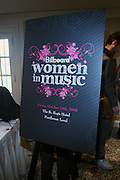 Atmosphere at the Billboard's 3rd Annual Women in Music Breakfast held at St. Regis Hotel held on October 24, 2008..The Women in Breakfast was established to recognize extraordinary women in the music industry whii have made significant contributions to the business and who, through their hard work and continued success, inspire generations of women to take on increasing responsibilities within the field.