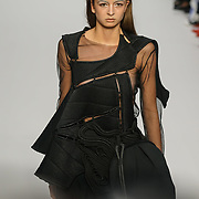 """London, England, UK. 15th September 2017. """"Ones to Watch"""" NEO Design showcases latest collection at FASHION SCOUT SS18 at Freemasons Hall."""