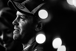 April 7, 2018 - Sakhir, Bahrain - VETTEL Sebastian (ger), Scuderia Ferrari SF71H, portrait during 2018 Formula 1 FIA world championship, Bahrain Grand Prix, at Sakhir from April 5 to 8  (Credit Image: © Hoch Zwei via ZUMA Wire)