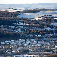 Snow and Ice, Perthshire...28.12.14<br /> The view of Perth from the top of Kinnoull Hill in Perth as the freezing conditions bite into another day..<br /> Picture by Graeme Hart.<br /> Copyright Perthshire Picture Agency<br /> Tel: 01738 623350  Mobile: 07990 594431