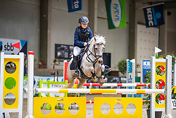 Van Bylen Florian, BEL, Quarqui<br /> Nationaal Indoor Kampioenschap Pony's LRV <br /> Oud Heverlee 2019<br /> © Hippo Foto - Dirk Caremans<br /> 09/03/2019