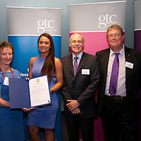 Images from the 2014 GTSC Probabtion Event Pictured are Jackie Brock (Chief Executive of Children First), Emma Garroway (North Ayrshire),,Ken Muir (Chief Executive GTCS) and Derek Thompson (Convener GTCS). Thursday 12th June 2014.