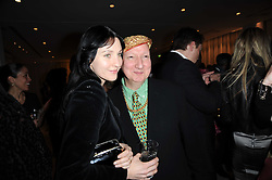 SUSIE BICK and STEPHEN JONES at a party to celebrate Lancome's 10th anniversary of sponsorship of the BAFTA's in association with Harper's Bazaar magazine held at St.Martin's Lane Hotel, London on 19th February 2010.