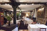 Zuberoa restaurant, in Oiartzun, Spain.