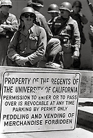 US National guard ordered in by Governor Reagan take over the park and occupy Berkeley, People's Park Student protest & riots Berkeley California 1969