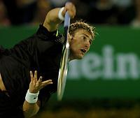 MELBOURNE, AUSTRALIA - JANUARY 30: Juan Carlos Ferrero in action during day 12 of the Australian Open January 30, 2004 in Melbourne, Australia. (Photo by Sportsbeat) *** Local Caption *** -