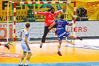 Wesley Pardin - 01.04.2015 - Toulouse / Cesson Rennes - 19eme journee de Division 1<br />Photo : Manuel Blondeau / Icon Sport
