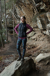Danielle on a hike to Angel's Windows, Thursday, March 15, 2018  at Red River Gorge in Stanton.