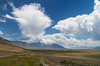 Clouds over Lost River Range Idaho