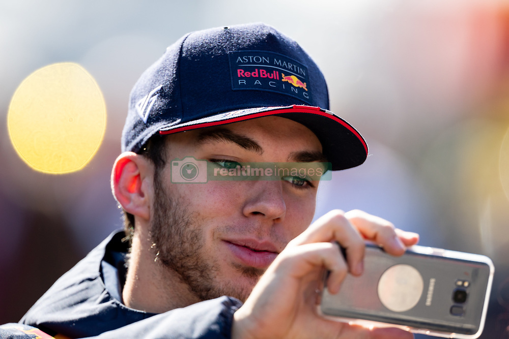 February 28, 2019 - Montmelo, Barcelona, Calatonia, Spain - Pierre Gasly of Aston Martin RedBull Racing seen during the second week F1 Test Days in Montmelo circuit, Catalonia, Spain. (Credit Image: © Javier Martinez De La Puente/SOPA Images via ZUMA Wire)