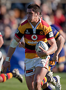 Waikato's Sam Christie makes a break during the Air New Zealand Cup rugby match between Waikato and Bay of Plenty at Bay Park Stadium, Tauranga, New Zealand, Saturday 22 August 2009. Photo: Stephen Barker/PHOTOSPORT