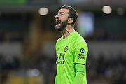 Rui Patrício of Wolverhampton Wanderers during the Europa League play off leg 2 of 2 match between Wolverhampton Wanderers and Torino at Molineux, Wolverhampton, England on 29 August 2019.