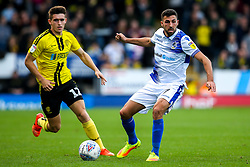 Liam Sercombe of Bristol Rovers takes on Ben Fox of Burton Albion - Mandatory by-line: Robbie Stephenson/JMP - 13/10/2018 - FOOTBALL - Pirelli Stadium - Burton upon Trent, England - Burton Albion v Bristol Rovers - Sky Bet League One