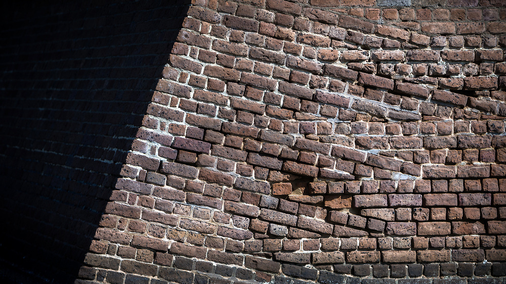 COCKSPUR ISLAND, GA. - FEBRUARY 21, 2018: The 11-foot thick walls of Fort Pulaski where built in the early 1800s following the War of 1812 to protect the port of Savannah. (WABE Photo/Stephen B. Morton)