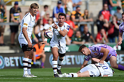 Nick David of Worcester Warriors in action - Mandatory byline: Patrick Khachfe/JMP - 07966 386802 - 14/09/2019 - RUGBY UNION - Franklin's Gardens - Northampton, England - Premiership Rugby 7s (Day 2)