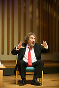 GUARDIAN BOOK CLUB - Author HOWARD JACOBSON is interviewed by JOHN MULLAN in Manchester as they discuss the writers novel Kalooki Nights.