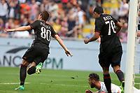 c - Milano - 09.04.2017 - Serie A 31a giornata  -  Milan-Palermo   - nella foto:  Mario Pasalic esulta dopo il gol del 2 a 0