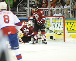 The Edmonton Oil Kings won the 2014 MasterCard Memorial Cup championship in London, ON on Sunday May 25, 2014 with a 6-3 win over the Guelph Storm. Photo by Aaron Bell/CHL Images