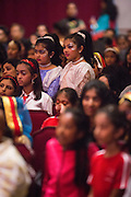 Hundreds of families join to wait their children perform during the ICC Youthsava 2016 Dance Competition at the India Community Center in Milpitas, California, on April 9, 2016. (Stan Olszewski/SOSKIphoto)