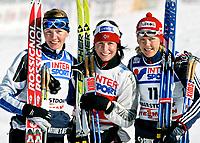 ◊Copyright:<br />GEPA pictures<br />◊Photographer:<br />Mario Kneisl<br />◊Name:<br />Bjoergen<br />◊Rubric:<br />Sport<br />◊Type:<br />Ski nordisch, Langlauf<br />◊Event:<br />FIS Nordische Ski WM 2005, Langlauf 30 km, Damen<br />◊Site:<br />Oberstdorf, Deutschland<br />◊Date:<br />26/02/05<br />◊Description:<br />Virpi Kuitunen (FIN), Marit Bjoergen (NOR), Natalia Baranova-Masolkina (RUS)<br />◊Archive:<br />DCSKN-2602054300<br />◊RegDate:<br />26.02.2005<br />◊Note:<br />9 MB - WU/WU - Nutzungshinweis: Es gelten unsere Allgemeinen Geschaeftsbedingungen (AGB) bzw. Sondervereinbarungen in schriftlicher Form. Die AGB finden Sie auf www.GEPA-pictures.com.<br />Use of picture only according to written agreements or to our business terms as shown on our website www.GEPA-pictures.com.