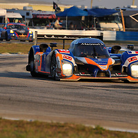 Team Oreca-Matmut competing at the 59th Mobil 1 12 Hours of Sebring, March 19, 2011