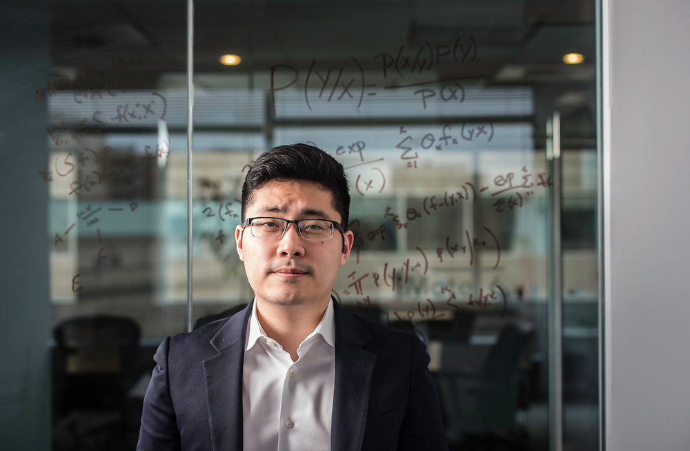 WASHINGTON, DC -- 12/6/17 -- Tim Hwang is the founder and CEO of FiscalNote which uses AI, analytics and natural language processing to automate and analyze government tasks and data…by André Chung #_AC16272