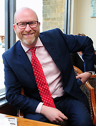 © Licensed to London News Pictures. 07/06/2017<br /> UKIP Leader Paul Nuttall in Corrington,Essex this afternoon on a walkabout on the last day of the election campaign for 2017.<br /> Photo credit: Grant Falvey/LNP