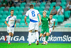Stefan Savić of Olimpija during football match between NK Olimpija Ljubljana and NK Celje in 3rd Round of Prva liga Telekom Slovenije 2018/19, on Avgust 05, 2018 in SRC Stozice, Ljubljana, Slovenia. Photo by Vid Ponikvar / Sportida