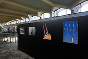 "Richard Baker's photography exhibition from the Alain de Botton book 'A Week at the Airport: A Heathrow Diary"" (2009), on show at Pisa Airport, Italy as part of the Festival della Creativita, 2010."