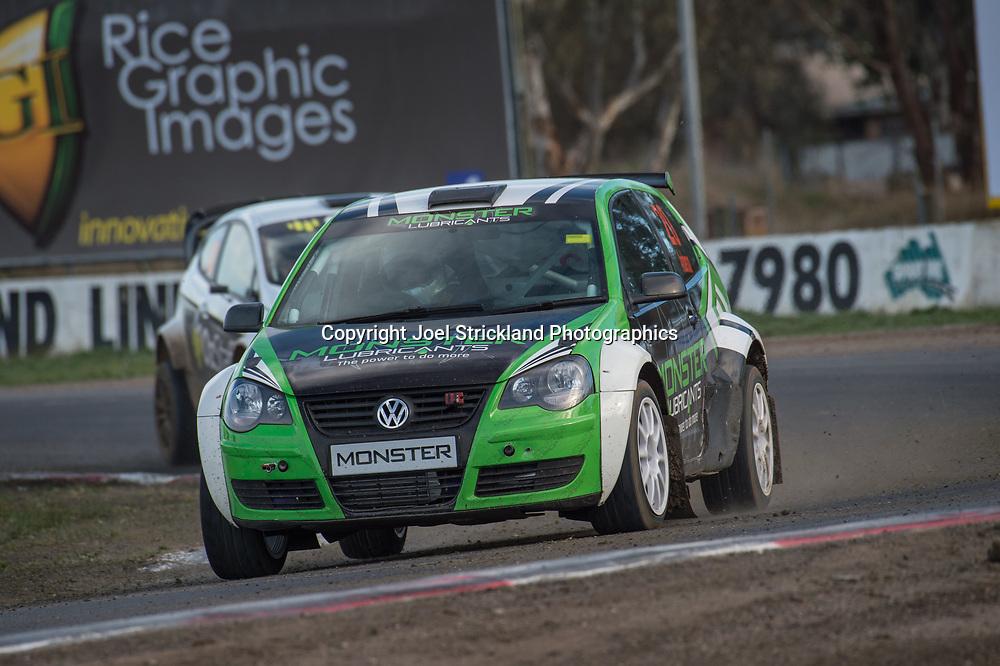 Scott Anderson , VW Polo  - Rallycross Australia - Winton Raceway - 16th July 2017