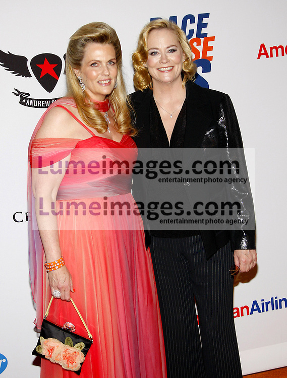 Nancy Davis and Cybill Shepherd at the 19th Annual Race To Erase MS held at the Hyatt Regency Century Plaza in Century City, USA on May 18, 2012.