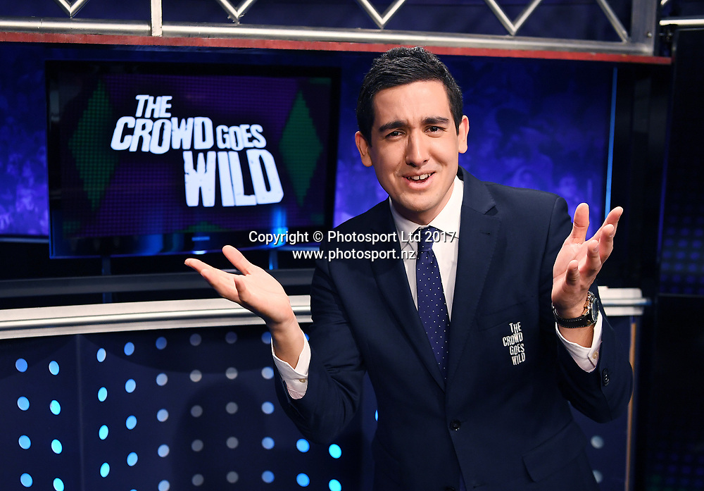 Chris Key.<br /> The Crowd Goes Wild publicity stills photoshoot at Sky Studios in Auckland, New Zealand.<br /> 31 July 2017.<br /> Copyright photo: Andrew Cornaga / www.photosport.nz