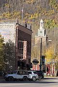 Silverton Colorado's historic downtown.