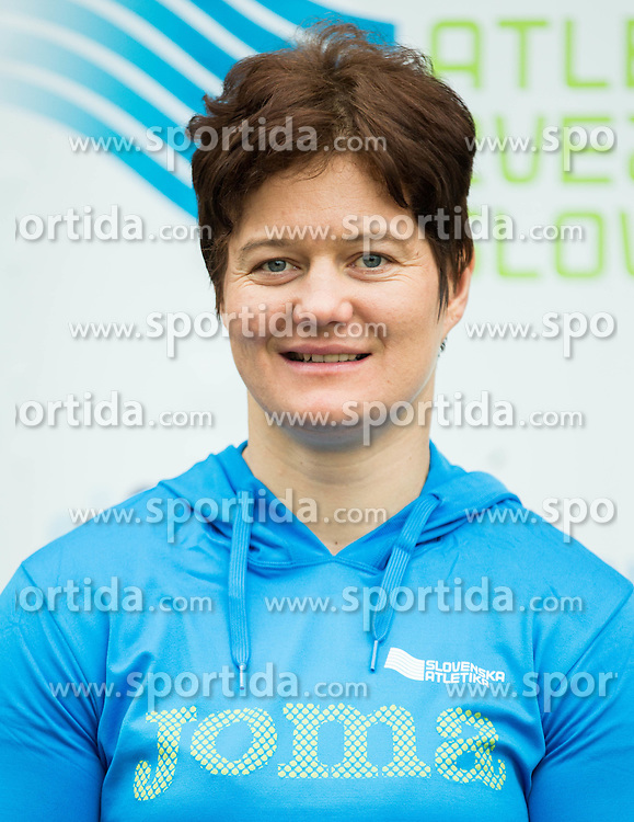 Martina Ratej during press conference when Slovenian athletes and their coaches sign contracts with Athletic federation of Slovenia for year 2016, on February 25, 2016 in AZS, Ljubljana, Slovenia. Photo by Vid Ponikvar / Sportida
