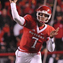 Nov 12, 2009; Piscataway, NJ, USA; during first half NCAA Big East football action between Rutgers and South Florida at  Rutgers Stadium.