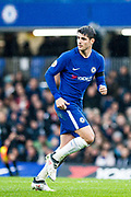 Chelsea (9) Álvaro Morata  during the Premier League match between Chelsea and West Ham United at Stamford Bridge, London, England on 8 April 2018. Picture by Sebastian Frej.