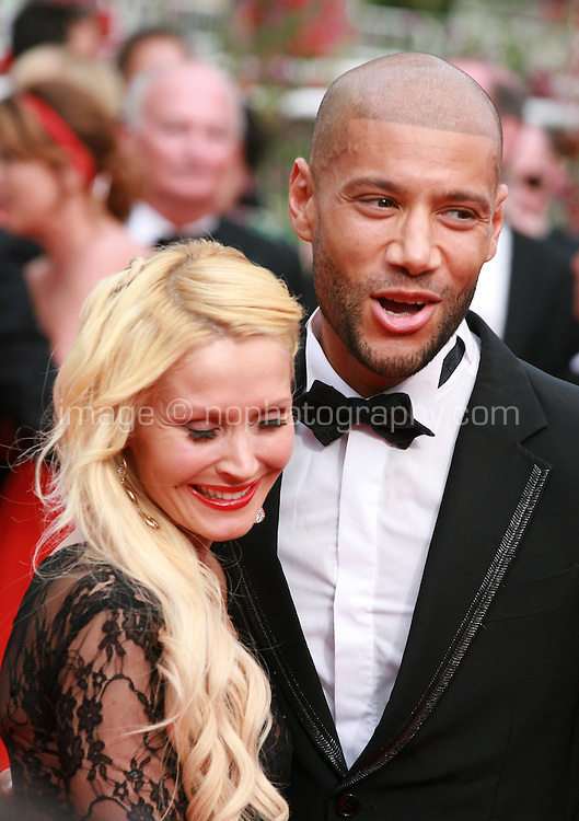 Tatiana Laurens Delarue and Xavier Delarueat The Search gala screening red carpet at the 67th Cannes Film F estival France. Tuesday 20th May 2014 in Cannes Film Festival, France.