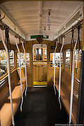 Interior View of Restored Cable Car 1 | December 3, 2014
