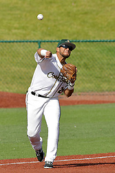 28 May 2017: M. Torres during a Frontier League Baseball game between the Lake Erie Crushers and the Normal CornBelters at Corn Crib Stadium on the campus of Heartland Community College in Normal Illinois
