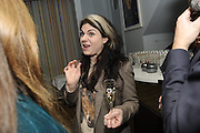 CAITLIN MORAN, The 2011 Groucho Club Maverick Award. The Groucho Club. Soho, London. 14 November 2011. <br /> <br />  , -DO NOT ARCHIVE-© Copyright Photograph by Dafydd Jones. 248 Clapham Rd. London SW9 0PZ. Tel 0207 820 0771. www.dafjones.com.