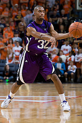 Northwestern guard-forward Sterling Williams (32)..The Virginia Cavaliers men's basketball team faced the Northwestern Wildcats at John Paul Jones Arena in Charlottesville, VA on November 27, 2007.