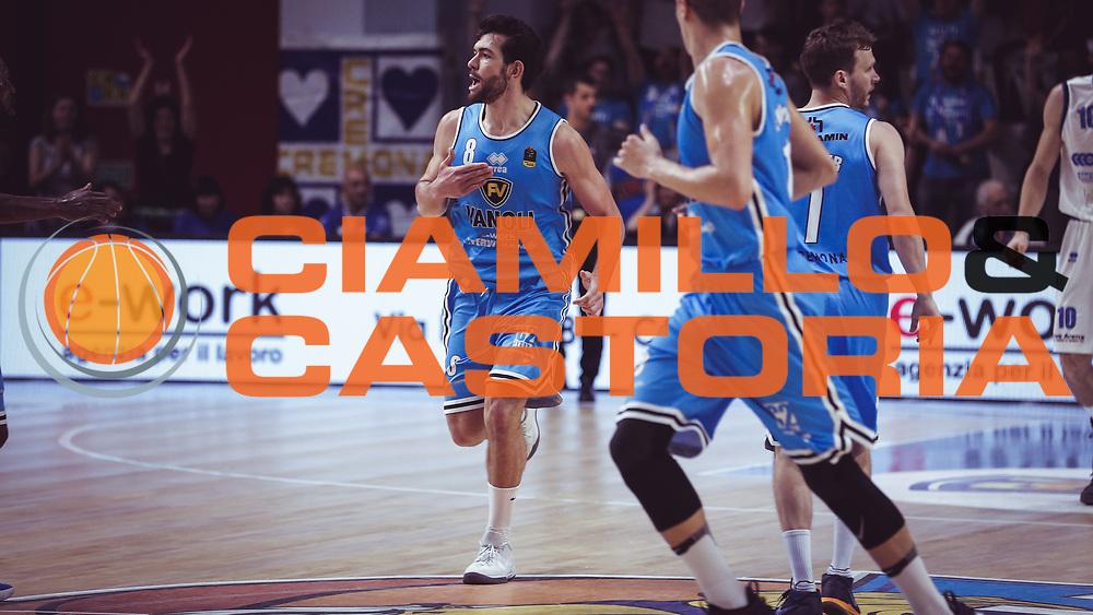 Ricci Giampaolo<br /> Vanoli Cremona - Germani Basket Brescia<br /> Legabasket Serie A 2017/18<br /> Cremona, 27/04/2018<br /> Foto MarcoBrondi / Ciamillo-Castoria