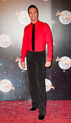 Michael Vaughan joins fellow Contestants as they line up for this years Strictly Come Dancing television show on BBC. Contestants will include Olympic medalist Victoria Pendleton, Tuesday September 11, 2012.Photo Andrew Parsons/i-Images