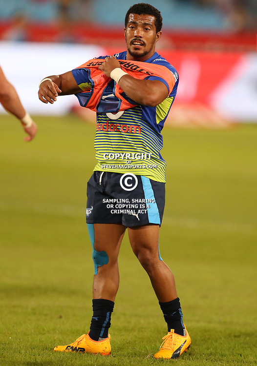 Rudy Paige of the Vodacom Bulls during the Super Rugby match between the Vodacom Bulls and the Jaguares at Loftus Versfeld, Pretoria,South Africa April 15th 2017 Photo by (Steve Haag)